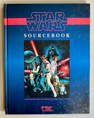 Star Wars Sourcebook West End Games Roleplaying Second Edition Hardcover