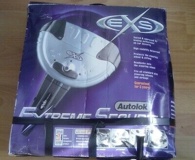 Autolock Extreme Security Steering Lock Boxed & Complete with 2 Keys / Fittings