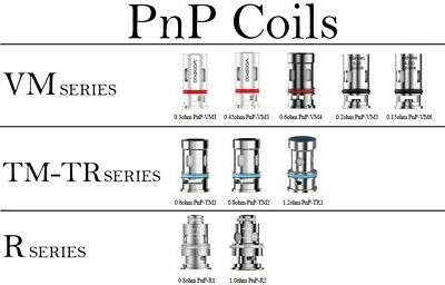 COIL Pnp FOR VINCI DRAG Baby FIND Trio (5 Pezzi) - VOOPOO