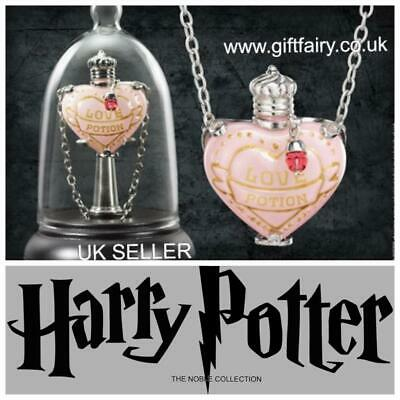 Official Genuine Harry Potter Love Potion Pendant Necklace and Display- Noble