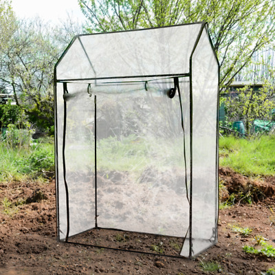 Tomato Greenhouse Vegetables Grow Bag Growhouse w/ Reinforced PE Cover