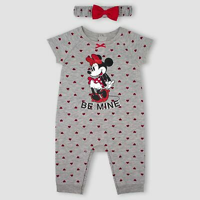Disney Minnie Mouse Red Polka Dot Navy Base Girls Gift Baby Sneakers NWT