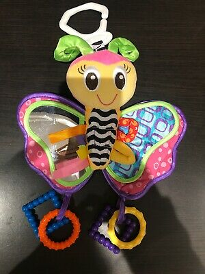 Playgro Butterfly Sensory Rattle Toy
