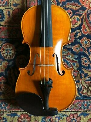 Fine Violin labeled: Christian Laumann. Budapest 2012. Excellent condition