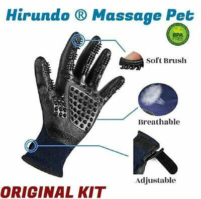 Hirundo Pet Grooming Gloves For Cats, Dogs & Horses / Pair