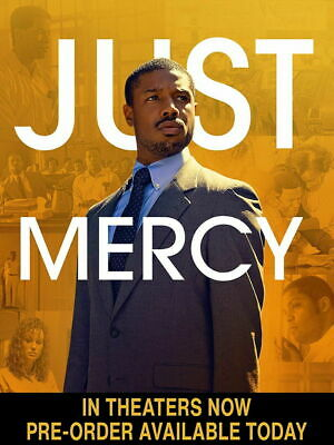 Just Mercy (Dvd,2019)>>>New<<< Pre-Order Ships On 04/14/2020