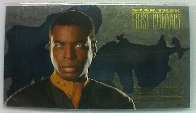 Star Trek First Contact (skybox 1996) Character Cards #C3 Georgi La Forge