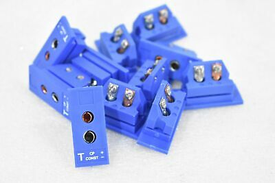Omega Engineering Thermocouple Connector Spj-T-F ( Lot Of 11 )