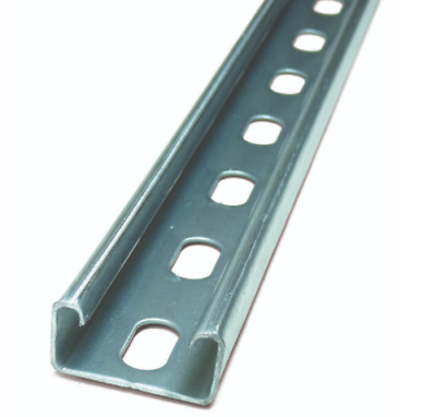 Slotted Channel Strut Unistrut style 41 x 21mm 1m Lengths Air conditioning Elec