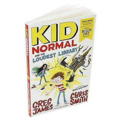 Kid Normal and the Loudest Library: World Book Day 2020 Paperback 9781526619655