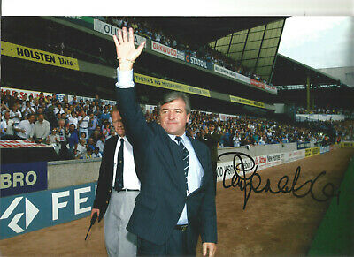 Terry Venables Tottenham Hotspur signed authentic football photograph SS635A