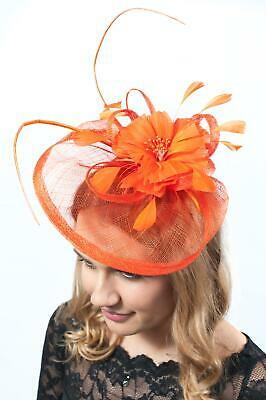 Ladies Headpiece Sinamay Fascinator Fascinators Race Day Wedding Hat Hatinator