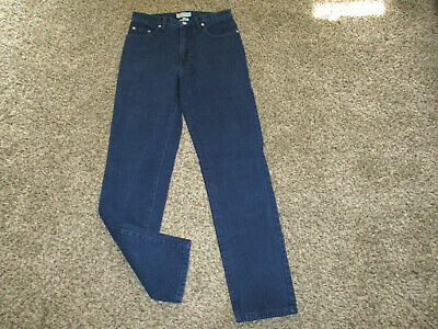 VINTAGE NAVY BLUE GUESS BRAND 10001 JEANS sz 30x32 made in USA 100% cotton 29x32