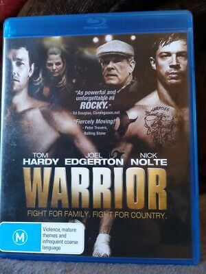 Warrior Blu Ray Region B New And Unsealed Free Postage