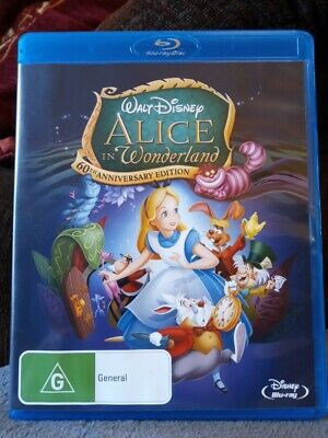Alice in Wonderland (1951)  60th Anniversary Edition Blu-ray NEW AND UNSEALED