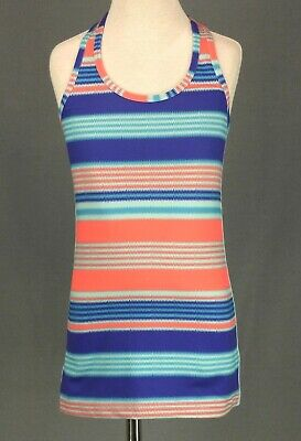 362 Ivivva Lululemon girl reversible sleeveless tank top racerback sport EUC 8