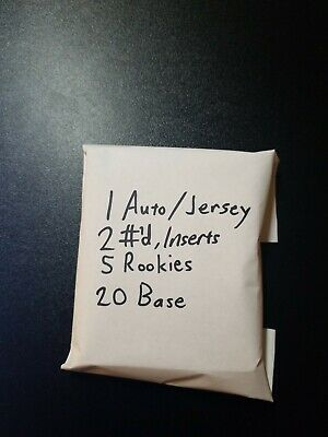 NBA Basketball Cards Hot Pack Auto Jersey Rookie Numbered Base