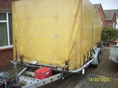 Brian James Covered Car Transporter Trailer