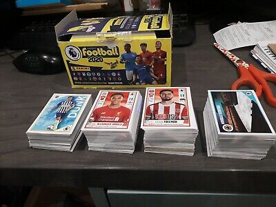 Complete Set Of Panini Premier League 2020 Football Stickers  All 636 Stickers