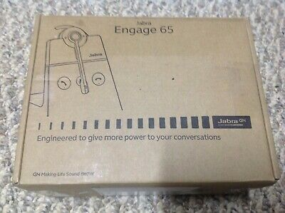 Jabra Engage 65 Wireless Headset, Convertible (not working)