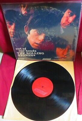 """THE ROLLING STONES, """"OUT OF OUR HEADS """",  VINYL LP RECORD ALBUM, from 1965  MONO"""