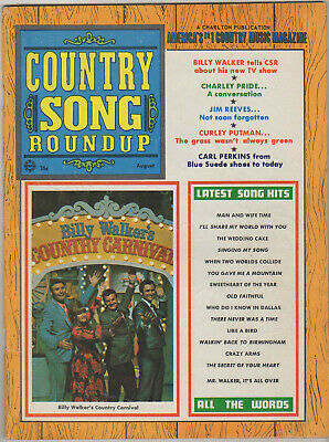 August 1969 Country Song Roundup Magazine Billy Walker's Country Carnival More