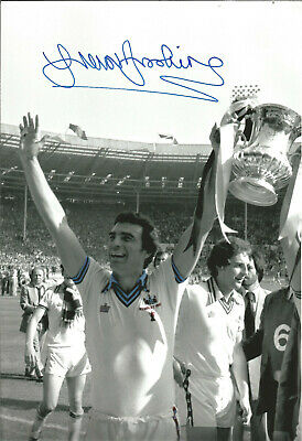 Trevor Brooking West Ham signed 12 x 8 inch authentic football photograph SS679