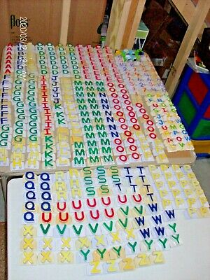 Huge Lot 490 Piece LEAP FROG Fridge Phonics Alphabet Letters Numbers Animals