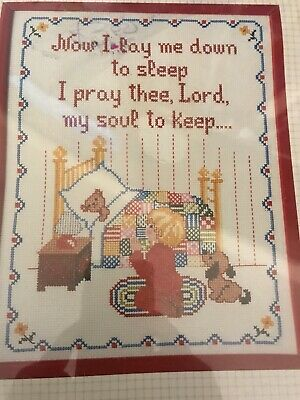"Now I Lay Me Down To Sleep sku# 749 Poem Fridge Magnet /""Bedtime Prayer/"""