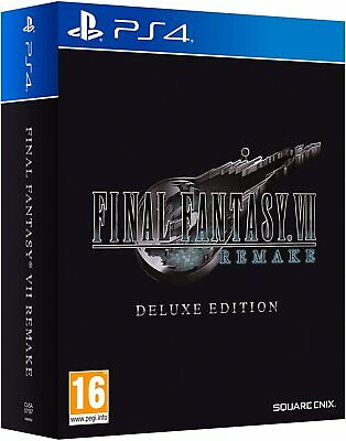 Final Fantasy Vii 7 Remake Deluxe Limited Edition Ps4 Italiano Eu Playstation 4