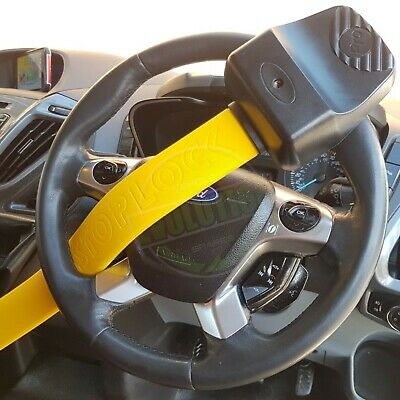 Ford Transit Connect steering wheel lock Stoplock Pro Elite Thatcham Approved