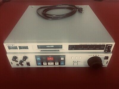 Sony EVO-9800 Hi-8 8mm Video 8 Player Recorder PCM TC VCR Deck Exc. Condition