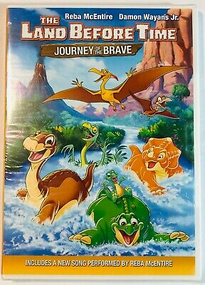 LAND BEFORE TIME: Journey of the Brave  DVD 2016  Dinosaurs  NEW SEALED