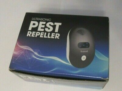 Indoor Ultrasonic Pest Repeller - Electronic Repellent for Insect,