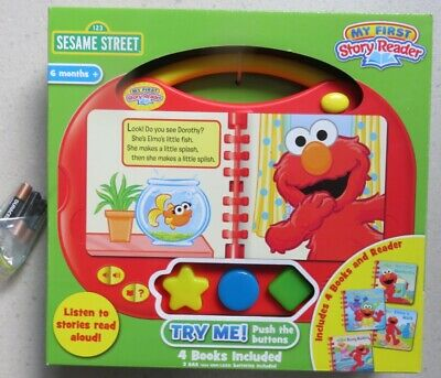 My First Reader And Book Set - Sesame Street Is Perfect For Fun Reading