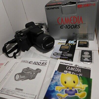 Olympus Camedia E-100RS Digital Camera Japanese RARE Box Collector Mint