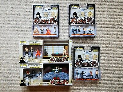 Micro Icons Series 1 Kung Fu Masters Complete Set