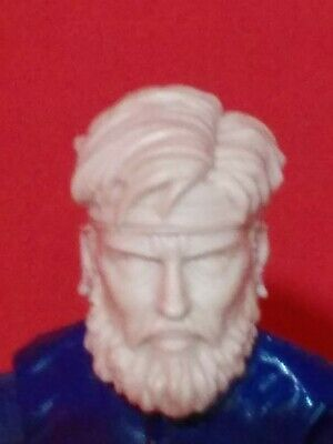 MH060 Cast Action figure head sculpt for use with 1:18th scale GI JOE Military