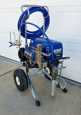 Graco Ultimate Mx Ii 795 Electric Airless Paint Sprayer,1595,1095,695