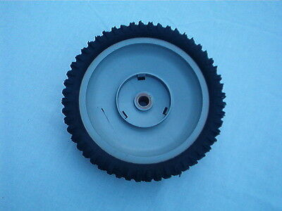 """Lawnmower Wheel and Tire 7.75"""" Diameter 1/2"""" Axle Opening    Same Day Shipping"""