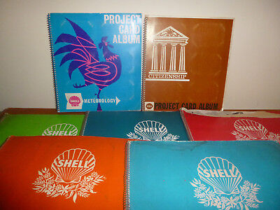 Project Shell Card Album Lot (7 Albums) Almost Complete