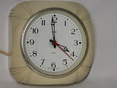 Smiths Sectric electric  wall clock for restoration