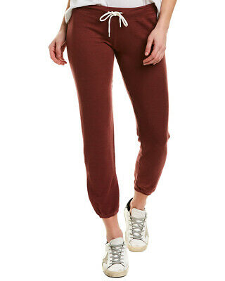 Monrow Supersoft Vintage Sweatpant Women's Red Xl