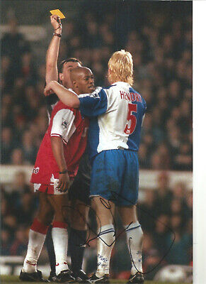 Colin Hendry Blackburn Rovers Signed 12 x 8 authentic football photograph SS722B