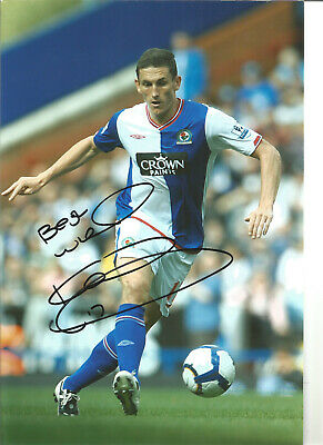 Keith Andrews Blackburn Rovers Signed 12x8 authentic football photograph SS723F