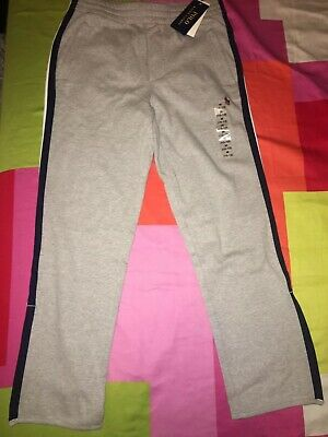 Ralph Lauren BNWT Boys Grey Joggers Trousers Cotton Large Age 10-12 Years RRP£75