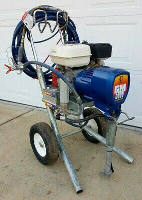 Graco Gm 5000, Gas Airless Paint Sprayer,