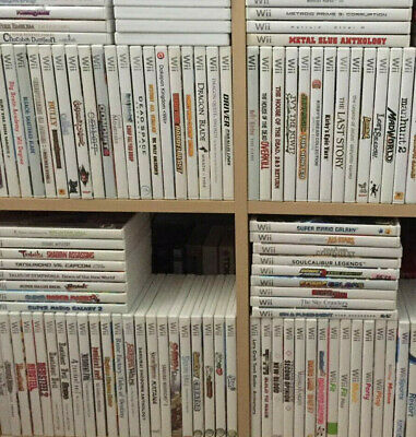 Wii Nintendo Game Selection