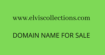 elviscollections.com - Great Domain Name - Great Price