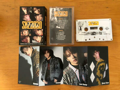 SKZ2020 Stray kids straykids Japan cassette tape photo card NEW